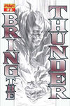 Cover for Bring the Thunder (Dynamite Entertainment, 2010 series) #2 [B&W RI]