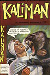 Cover for Kaliman (Editora Cinco, 1976 series) #121
