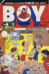 Cover for Boy Comics [Boy Illustories] (Superior Publishers Limited, 1948 series) #45