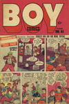 Cover for Boy Comics [Boy Illustories] (Superior Publishers Limited, 1948 series) #41
