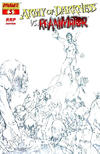 Cover for Army of Darkness (Dynamite Entertainment, 2005 series) #3 [RRP Sketch Cover]