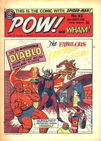 Cover Thumbnail for Pow! and Wham! (IPC, 1968 series) #62