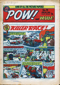 Cover Thumbnail for Pow! and Wham! (IPC, 1968 series) #73