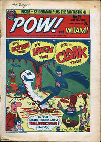 Cover Thumbnail for Pow! and Wham! (IPC, 1968 series) #75