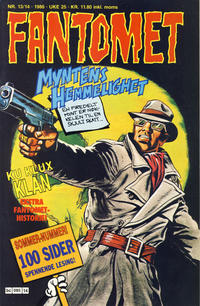 Cover for Fantomet (Semic, 1976 series) #13-14/1986