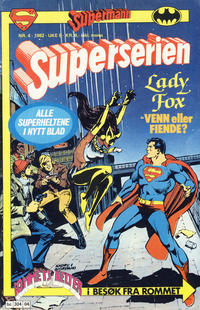 Cover Thumbnail for Superserien (Semic, 1982 series) #4/1982