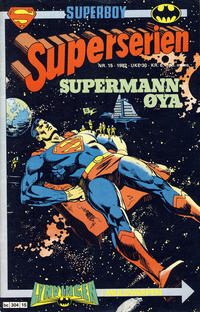 Cover Thumbnail for Superserien (Semic, 1982 series) #15/1982
