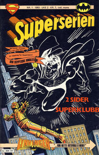 Cover Thumbnail for Superserien (Semic, 1982 series) #1/1983