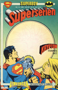 Cover Thumbnail for Superserien (Semic, 1982 series) #10/1982