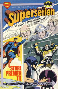 Cover Thumbnail for Superserien (Semic, 1982 series) #17/1982