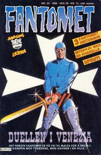 Cover Thumbnail for Fantomet (Semic, 1976 series) #20/1986