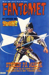Cover Thumbnail for Fantomet (Semic, 1976 series) #21/1986