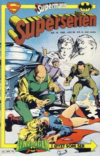 Cover Thumbnail for Superserien (Semic, 1982 series) #18/1982