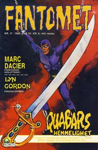 Cover Thumbnail for Fantomet (Semic, 1976 series) #17/1986