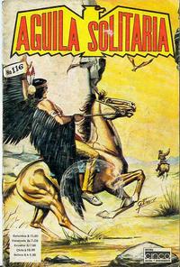 Cover Thumbnail for Aguila Solitaria (Editora Cinco, 1976 ? series) #116