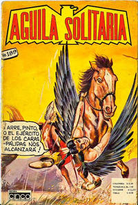 Cover Thumbnail for Aguila Solitaria (Editora Cinco, 1976 ? series) #189