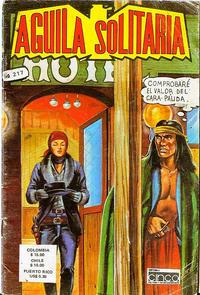 Cover Thumbnail for Aguila Solitaria (Editora Cinco, 1976 ? series) #217