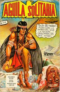 Cover Thumbnail for Aguila Solitaria (Editora Cinco, 1976 ? series) #219
