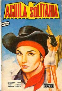 Cover Thumbnail for Aguila Solitaria (Editora Cinco, 1976 ? series) #224
