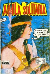 Cover Thumbnail for Aguila Solitaria (Editora Cinco, 1976 ? series) #257