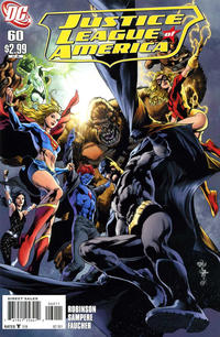 Cover Thumbnail for Justice League of America (DC, 2006 series) #60