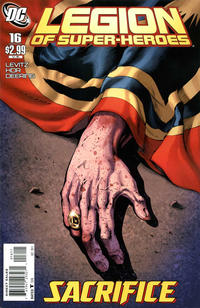 Cover Thumbnail for Legion of Super-Heroes (DC, 2010 series) #16 [Direct Sales]