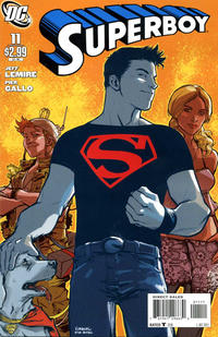 Cover Thumbnail for Superboy (DC, 2011 series) #11