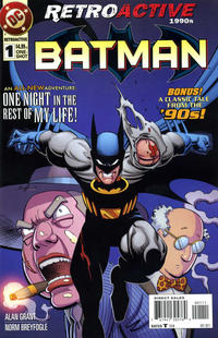 Cover Thumbnail for DC Retroactive: Batman - The '90s (DC, 2011 series) #1