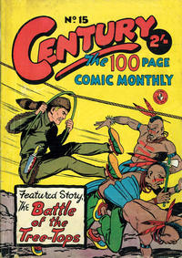 Cover Thumbnail for Century, The 100 Page Comic Monthly (K. G. Murray, 1956 series) #15