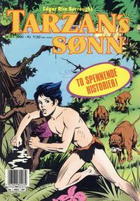 Cover Thumbnail for Tarzans Sønn (Bladkompaniet / Schibsted, 1989 series) #4/1990