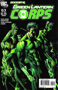 Cover Thumbnail for Green Lantern Corps (DC, 2006 series) #63