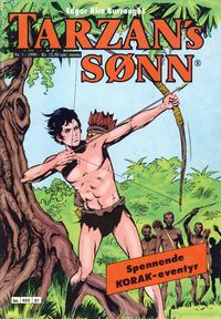 Cover Thumbnail for Tarzans Sønn (Bladkompaniet / Schibsted, 1989 series) #1/1990
