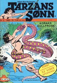 Cover Thumbnail for Tarzans Sønn (Bladkompaniet / Schibsted, 1989 series) #3/1989