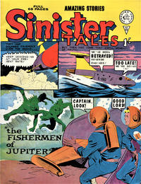 Cover Thumbnail for Sinister Tales (Alan Class, 1964 series) #49