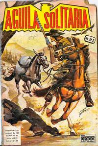 Cover Thumbnail for Aguila Solitaria (Editora Cinco, 1976 ? series) #91
