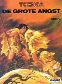 Cover Thumbnail for Toenga (Le Lombard, 1974 series) #[nn] - De grote angst