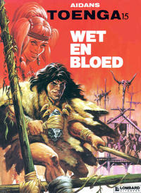 Cover Thumbnail for Toenga (Le Lombard, 1974 series) #15 - Wet en bloed