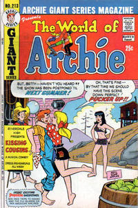Cover Thumbnail for Archie Giant Series Magazine (Archie, 1954 series) #213
