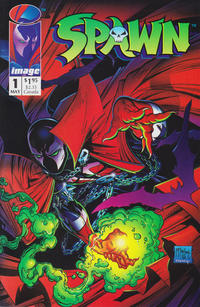 Cover Thumbnail for Spawn (Image, 1992 series) #1 [Direct]