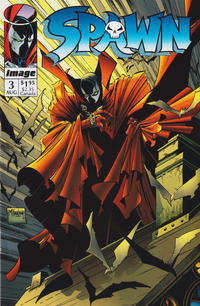 Cover Thumbnail for Spawn (Image, 1992 series) #3 [Direct]