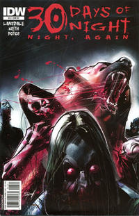 Cover for 30 Days of Night: Night, Again (IDW, 2011 series) #3 [Cover RI]
