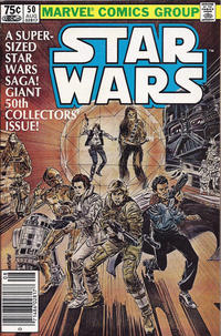 Cover Thumbnail for Star Wars (Marvel, 1977 series) #50 [Newsstand]