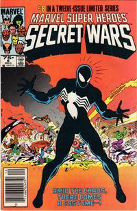 Cover Thumbnail for Marvel Super-Heroes Secret Wars (Marvel, 1984 series) #8 [Newsstand]