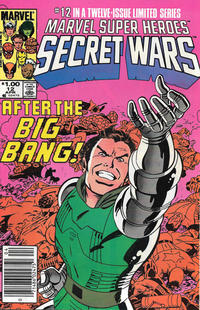 Cover for Marvel Super-Heroes Secret Wars (Marvel, 1984 series) #12 [Direct Edition]