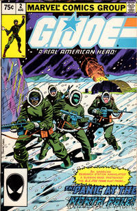Cover Thumbnail for G.I. Joe, A Real American Hero (Marvel, 1982 series) #2 [Second Print]