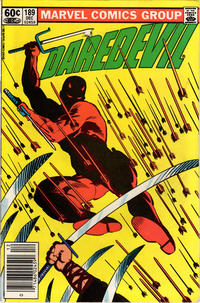 Cover Thumbnail for Daredevil (Marvel, 1964 series) #189 [Newsstand]
