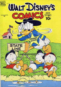 Cover Thumbnail for Walt Disney's Comics and Stories (Wilson Publishing, 1947 series) #v9#9 (104)