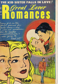Cover Thumbnail for Great Lover Romances (Superior Publishers Limited, 1952 series) #6