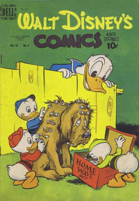 Cover Thumbnail for Walt Disney's Comics and Stories (Wilson Publishing, 1947 series) #v10#3 (111)