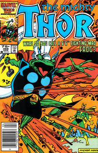 Cover Thumbnail for Thor (Marvel, 1966 series) #366 [Newsstand]